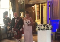 Bagpiper for wedding