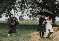 Wedding in Long Meadow, Cumbria